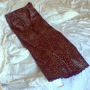 Emory Park Leopard 🐆 Satin Maxi Skirt